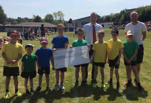 Parklands Toyota support Sandy Hill Academy